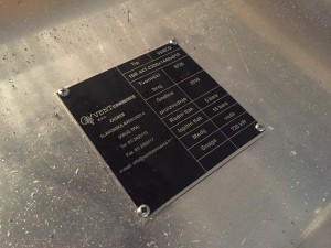 Lamelni izmjenjivač topline po narudžbi Bakar - Aluminij/Cu - Al 720 kW za toplu vodu