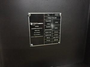 Lamelni izmjenjivač topline po narudžbi Čelik - Čelik/Fe - Fe 650 kW za paru