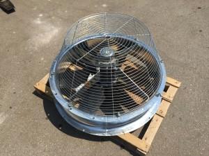 Cijevni ventilator za chiller
