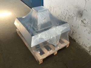 Krovni ventilator s vertikalnim ispuhom za rad pri visokoj temperaturi