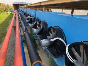 Hladnjak vode turbine kogeneracijskog postrojenja
