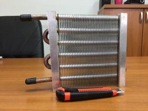 Lamelni izmjenjivač topline po narudžbi Bakar – Aluminij/Cu – Al