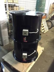 Cijevni aksijalni ventilator B3 Ø700 mm