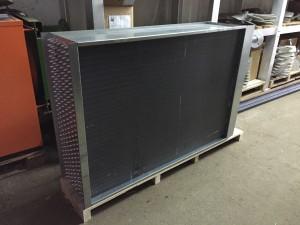 Lamelni izmjenjivač topline po narudžbi Bakar - Aluminij/Cu - Al 520 kW
