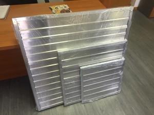 Razne samopodizne žaluzije izrađene od aluminija