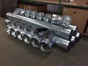 Razna fazonska oprema i cijevi za ventilaciju - spiro program