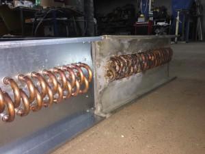 Lamelni izmjenjivač topline po uzorku/narudžbi Bakar - Aluminij/Cu - Al