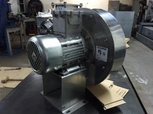 MORO centrifugalni ventilator od INOX - a u Ex-ATEX verziji
