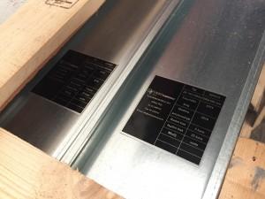 Lamelni izmjenjivač topline po narudžbi Bakar - Aluminij/Cu - Al za toplu vodu