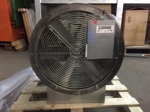 CIESSE aksijalni ventilator kompletno izrađen od INOX - a