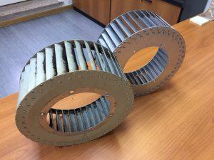 Rotor centrifugalnog ventilatora